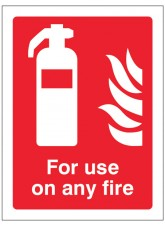 For Use On Any Fire