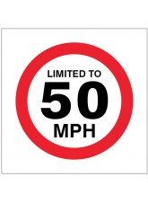 Limited to 50mph