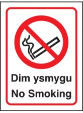 Welsh No Smoking