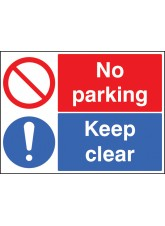 Keep Clear No Parking