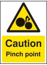 Caution Pinch Point