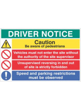 Driver Notice be Aware of Pedestrians - Unsupervised Reversing Forbidden