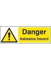 Danger Asbestos Hazard