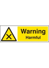 Warning Harmful
