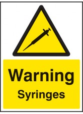 Warning Syringes