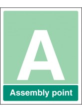 Special Assembly Point - Rigid Plastic - 250 x 300mm