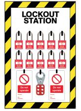 Medium Lockout Station