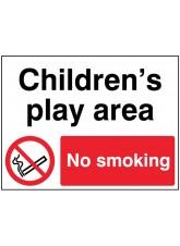 Childrens Play Area No Smoking