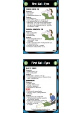 First Aid Eyes - Pocket Guide - 80 x 120mm