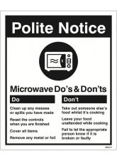 Microwave - Do's & Don'ts