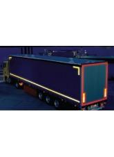 Yellow Lorry Marking Contour Tape 55mm x 12.5m (Rigid Vehicle)