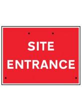 Re-Flex Sign - Site Entrance