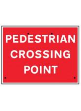 Re-Flex Sign - Pedestrian crossing point