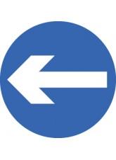 Direction Arrow Left / Right - Class RA1 - 600mm Diameter