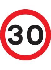 30 mph - Class RA1 - 600mm Diameter