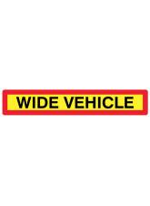 Wide Vehicle Panel 1265 x 225mm Reflective Aluminium