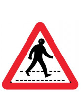 Re-Flex Sign - Pedestrian Crossing