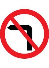 No Left Turn - Class R2 Permanent