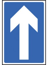 One Way Traffic - Class R2 Permanent - 300 x 450mm