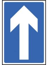 One Way Traffic - Class RA1 - 300 x 450mm