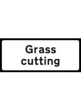 Grass Cutting Supp Plate - Class RA1 - 850 x 355mm