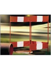 Folding Barrier Regular 3 Sides 750 x 1000mm