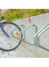 Single Wall Mounted Cycle Rack (HxWxD): 335 x 90 x 285mm