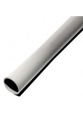 Grey galvanised steel pole powder coated 2.5mtr x 76mm