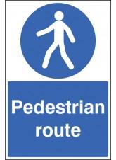Pedestrian Route - Floor Graphic