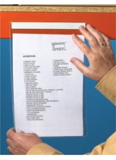 Self Adhesive Document Pocket ID - 220x310mm (Pack 10)