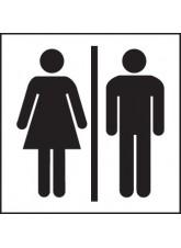 Unisex Toilet Symbol
