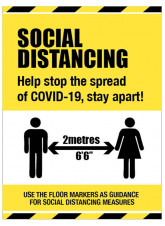 Social Distancing - Help Stop the Spread