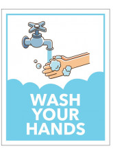 Cartoon - Wash Your Hands